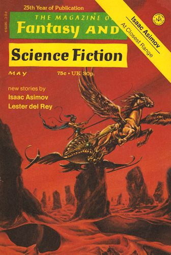 The Magazine of Fantasy and Science Fiction - May 1974