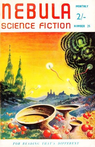 Nebula Science Fiction. Issue No.25, October 1957