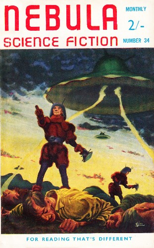 Nebula Science Fiction. Issue No.34, September 1958