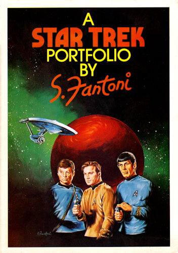 A Star Trek Portfolio by S. Fantoni. 1976