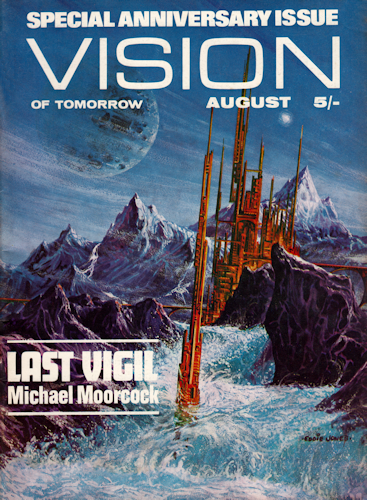 Vision of Tomorrow. Vol.1, No.11, August 1970