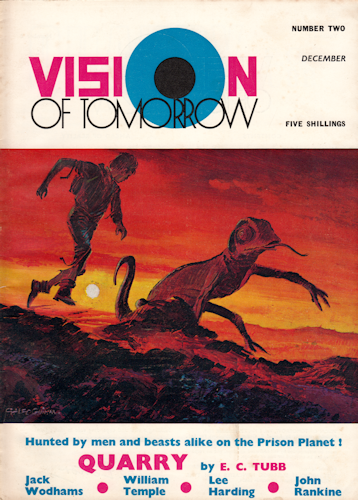 Vision of Tomorrow. Vol.1, No.2, December 1969.
