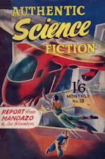 Authentic Science Fiction. Issue No.15, November 1951
