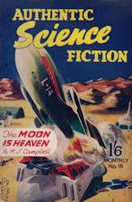 Authentic Science Fiction. Issue No.16, December 1951