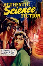 Authentic Science Fiction. Issue No.17, January 1952