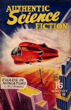 Authentic Science Fiction. Issue No.18, February 1952