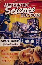 Authentic Science Fiction. Issue No.19, March 1952