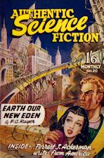 Authentic Science Fiction. Issue No.20, April 1952