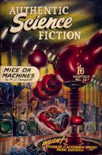 Authentic Science Fiction. Issue No.22, June 1952