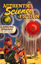 Authentic Science Fiction. Issue No.23, July 1952