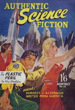 Authentic Science Fiction. Issue No.25, September 1952