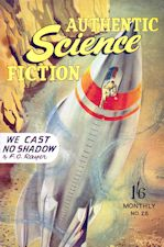 Authentic Science Fiction. Issue No.28, December 1952
