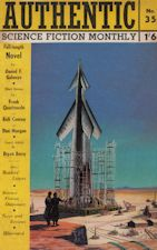 Authentic Science Fiction. Issue No.35, July 1953