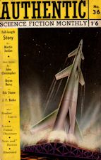 Authentic Science Fiction. Issue No.36, August 1953