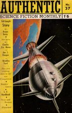 Authentic Science Fiction. Issue No.37, September 1953