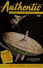 Authentic Science Fiction. Issue No.39, November 1953