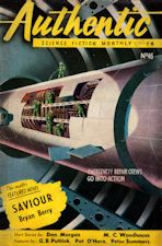 Authentic Science Fiction. Issue No.46, June 1954