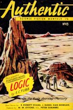 Authentic Science Fiction. Issue No.49, September 1954