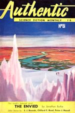 Authentic Science Fiction. Issue No.51, November 1954