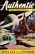 Authentic Science Fiction. Issue No.53, January 1955