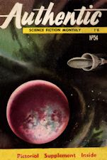 Authentic Science Fiction. Issue No.54, February 1955