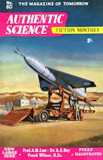 Authentic Science Fiction. Issue No.60, August 1955