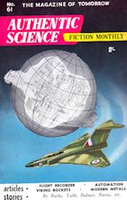 Authentic Science Fiction. Issue No.61, September 1955