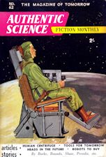 Authentic Science Fiction. Issue No.62, October 1955