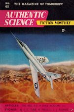 Authentic Science Fiction. Issue No.65, January 1956
