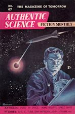 Authentic Science Fiction. Issue No.67, March 1956