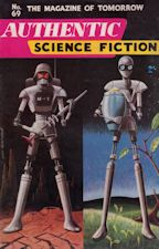 Authentic Science Fiction. Issue No.69, May 1956