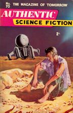 Authentic Science Fiction. Issue No.70, June 1956