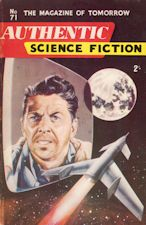 Authentic Science Fiction. Issue No.71, July 1956