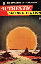 Authentic Science Fiction. Issue No.73, September 1956