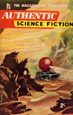 Authentic Science Fiction. Issue No.74, November 1956