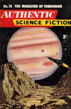 Authentic Science Fiction. Issue No.76, January 1957