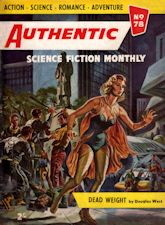 Authentic Science Fiction. Issue No.78, March 1957