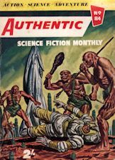 Authentic Science Fiction. Issue No.84, September 1957