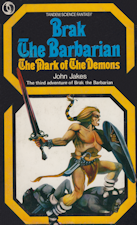 Brak the Barbarian - The Mark of the Demons. Paperback