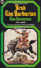Brak the Barbarian - The Sorceress. Paperback