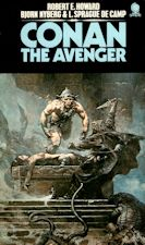 Conan the Avenger. Paperback