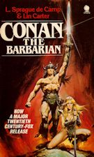 Conan the Barbarian. 1982. Paperback