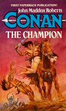Conan the Champion. Paperback