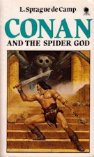 Conan and the Spider God. Paperback