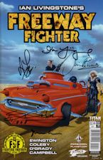 Freeway Fighter #1. 2017. Magazine/Comic book.