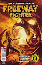 Freeway Fighter #2. 2017. Magazine/Comic book.