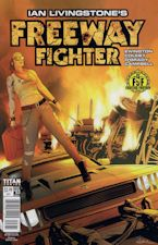 Freeway Fighter #3. 2017. Magazine/Comic book.