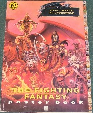 The Fighting Fantasy Poster Book. 1990. Very large format paperback.