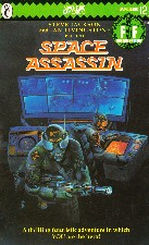 Space Assassin. 1985. Paperback.