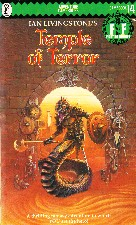 Temple of Terror. 1985. Paperback.